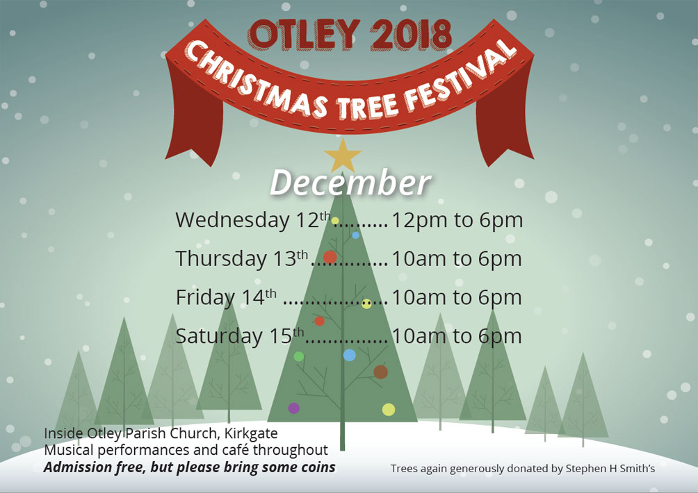 Otley Christmas Tree Festival 2018